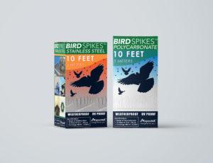 aspectek bird spikes boxes