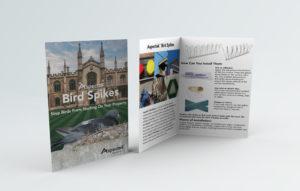 aspectek bird spikes brochure