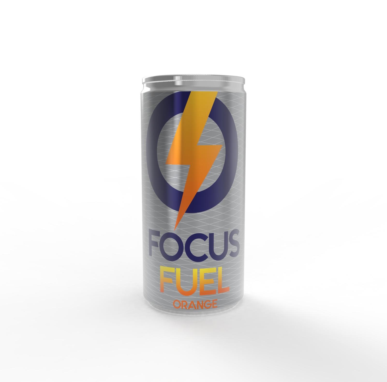 focus fuel can orange