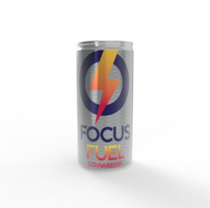focus fuel can strawberry