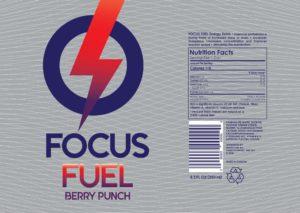 focus fuel sticker berry punch